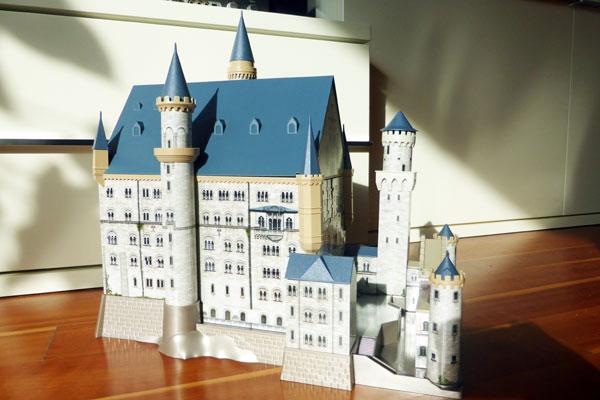 Mit 315 Teilen zum eigenen Schloss