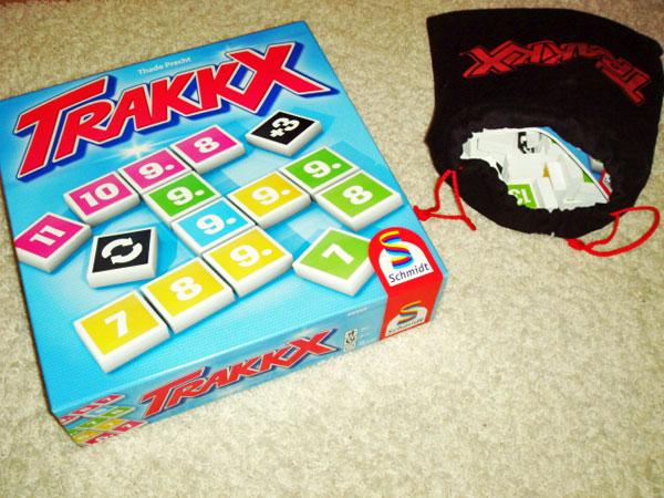 Trakkx - kniffliger Spielspaß für die ganze Familie