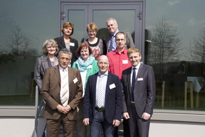 Sorgen für excellente Ernährung in Gesundheitseinrichtungen - Bundesgeschäftsstelle und ehrenamtlicher Vorstand der RAL Gütegemeinschaft mit Vertretern der Knappschafts-Klinik Bad Driburg als Gastgeber der Veranstaltung