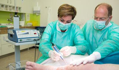 Moderne Technik zur Wundbehandlung erzielt gute Behandlungserfolge