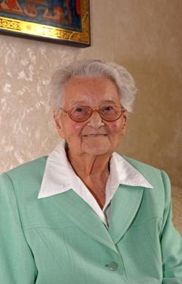Charlotte Fiedler geht seit 104 Jahren täglich in den Gottesdienst