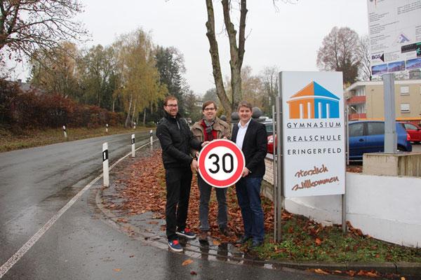 Steinhauser Straße in Eringerfeld wird zur Tempo 30-Zone