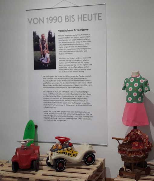 Bis heute beliebt: Bobbycars. ©Lippisches Landesmuseum Detmold