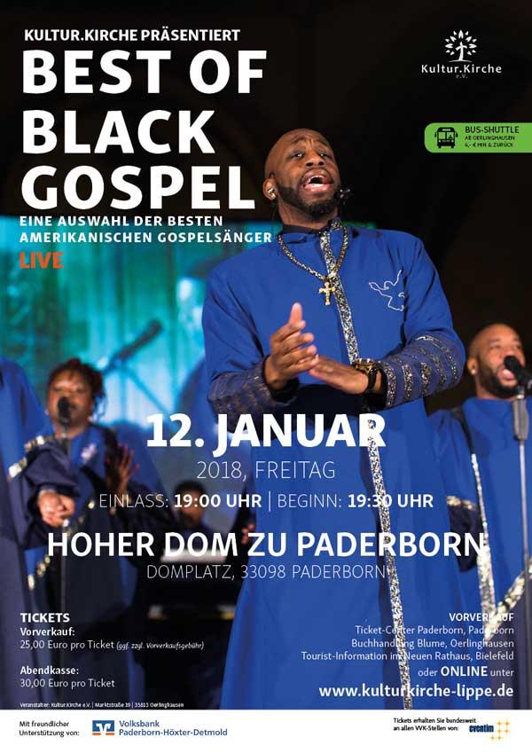 Top-Gospelsänger im Paderborner Dom