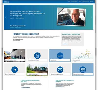 Lokführer gesucht: Keolis veröffentlicht neue Webseite