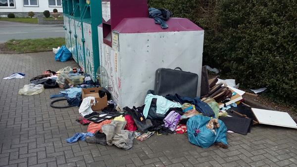 Geseke: Unerlaubt Müll entsorgt
