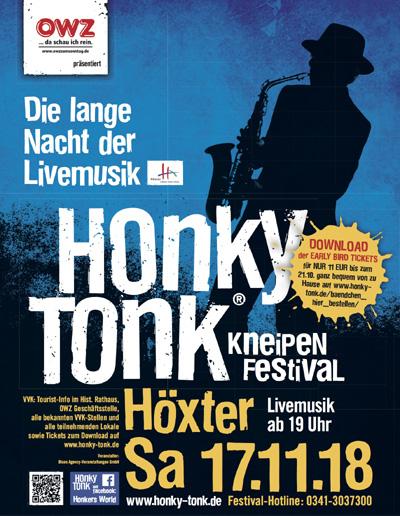 Nächste Woche Honky Tonk Höxter am 17.11.