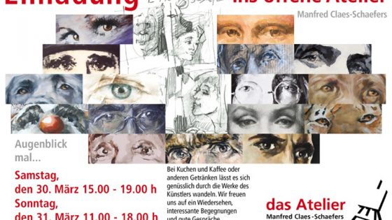 Augenblick mal … - Offenes Atelier 2019