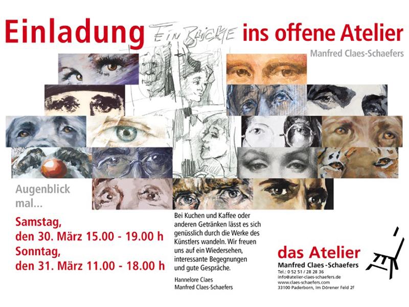 Augenblick mal … - Offenes Atelier 2019