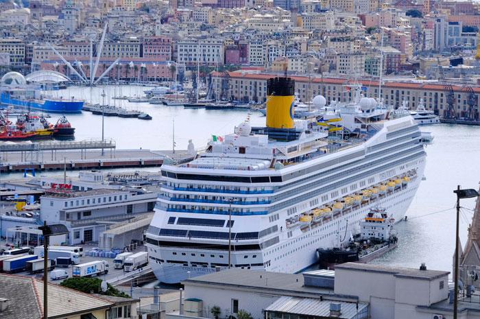 Costa Crociere kehrt in den Hafen von Genua zurück
