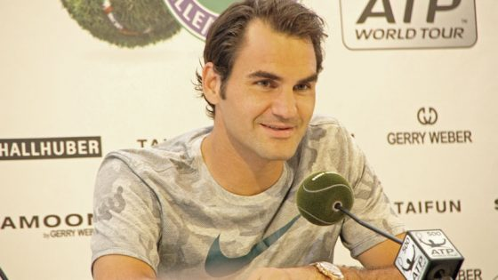 Roger Federer im Interview
