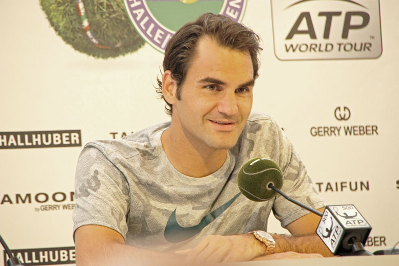 Roger Federer im Interview
