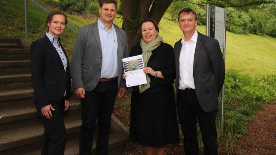 NRW-Umweltministerin unterstützt Standort Höxter der TH OWL