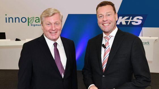 Dr. Bernd Althusmann, Wirtschaftsminister Niedersachsens (links) und Dr. Burkhard Lohr