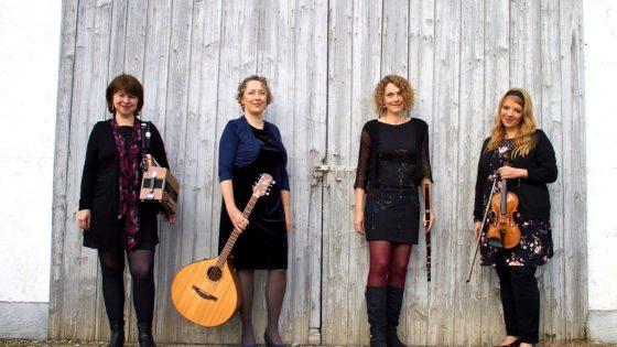 Gruppenbild der Band