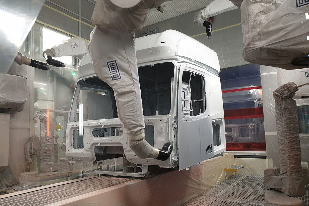 Paint Process Truck