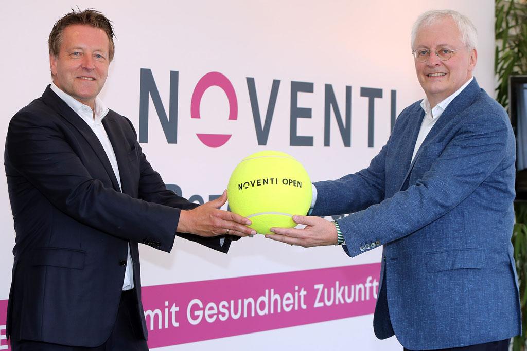 Turnierdirektor Ralf Weber und Dr. Hermann Sommer