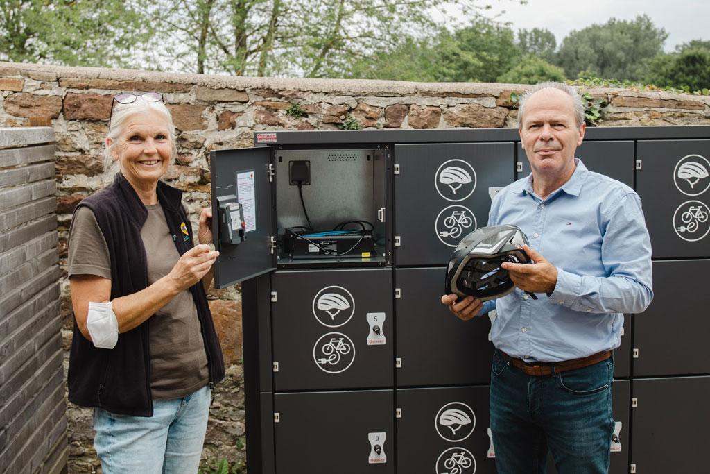 Renate Hofmann und Uwe Pietsch