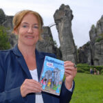 Kinderbuchautorin Andrea Winkler präsentiert ihren Kinderkrimi