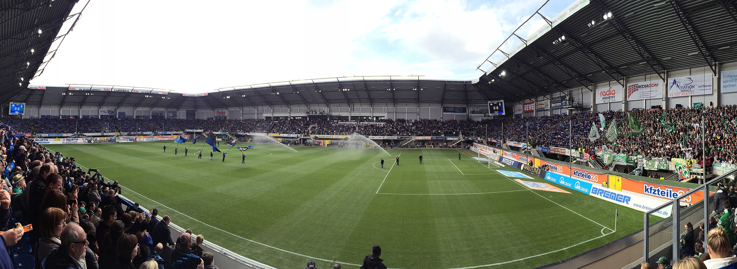 Der SC Paderborn im Blickpunkt