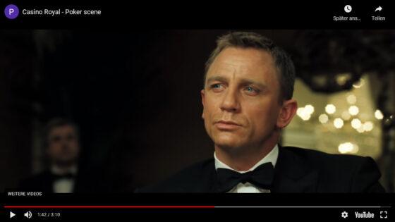 YouTube: Casino Royal - Poker scene (Screenshot)