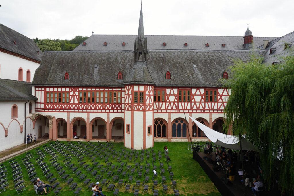 Innenhof Kloster Eberbach